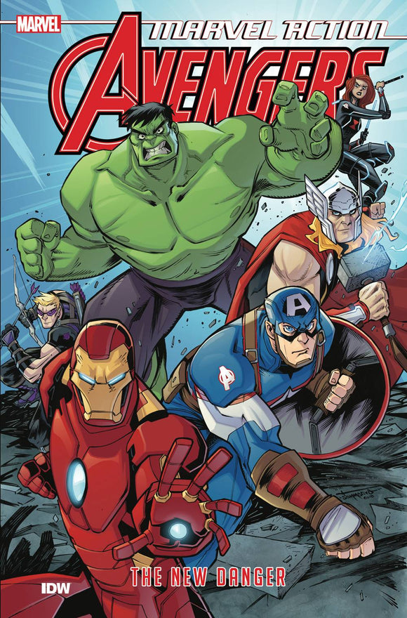 Marvel Action Avengers TP Book 01 New Danger - Books