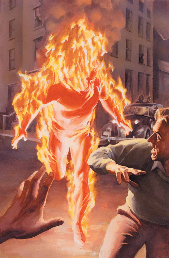 Marvels Annotated #1 (Of 4) Alex Ross Virgin Var