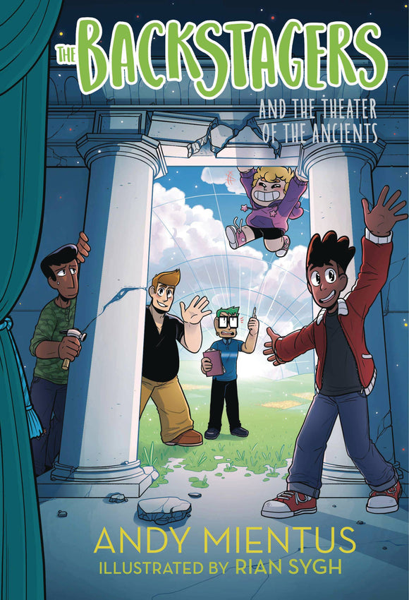 Backstagers Illus Hc Novel Vol 02 Theatre Of Ancients