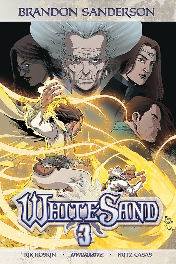 Brandon Sanderson White Sand Hc Vol 03