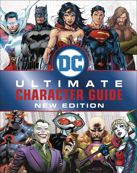 Dc Comics Ultimate Character Guide HC New Ed - Books