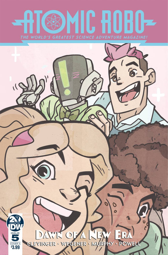 Atomic Robo & Dawn Of New Era #5 Cvr A Wegener (Of 5)