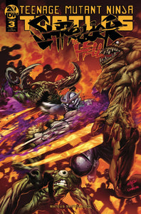 Tmnt Shredder In Hell #3 10 Copy Incv Gedeon