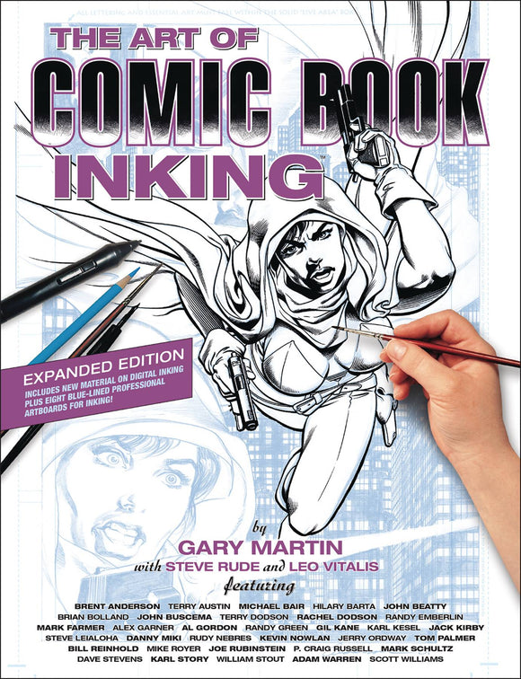 Art Of Comic Book Inking Tp 3Rd Edition