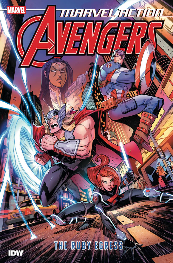 Marvel Action Avengers TP Book 02 Ruby Egress - Books