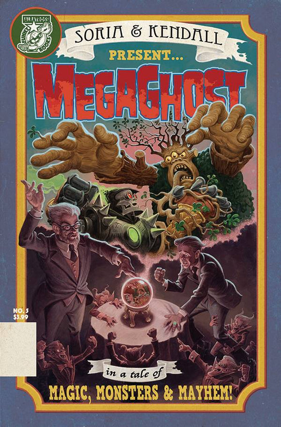 Mega Ghost #5 (Of 5)