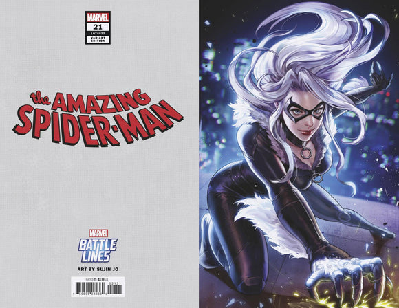 Amazing Spider-Man #21 Sujin Jo Marvel Battle Lines Va