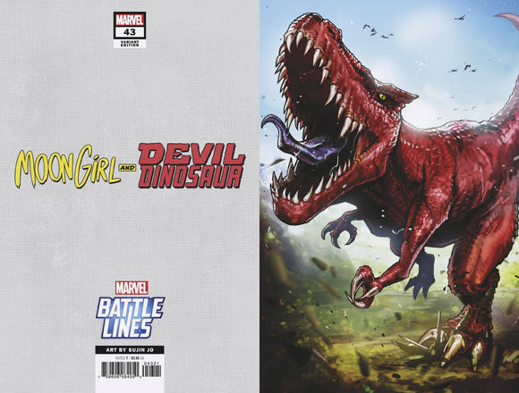 Moon Girl And Devil Dinosaur #43 Sujin Jo Marvel Battl