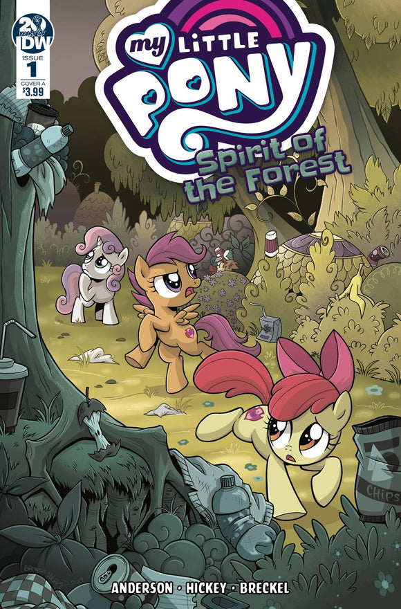 My Little Pony Spirit Of The Forest #1 Cvr A Hi (Of 3)