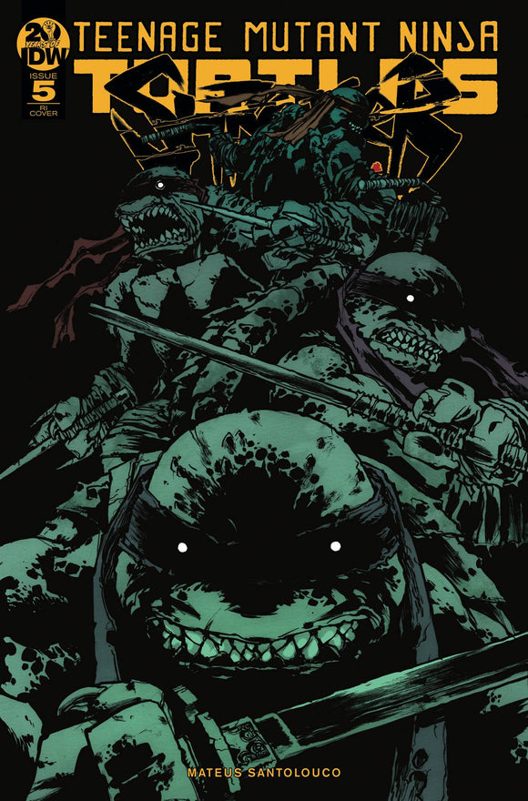 Tmnt Shredder In Hell #5 10 Copy Incv Campbell