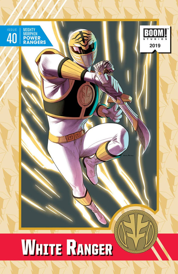 Mighty Morphin Power Rangers #40 20 Copy Anka Incv