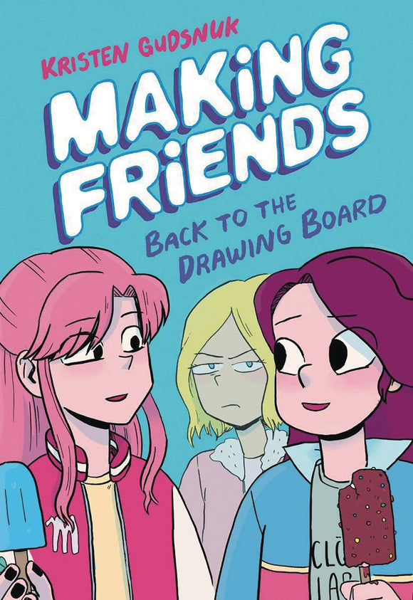 Making Friends GN Vol 02 Back to Drawing Board - Books