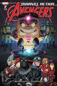 Marvel Action Avengers #7 Sommariva