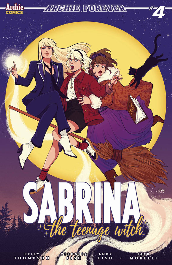 Sabrina Teenage Witch #4 Cvr C Mok (Of 5)
