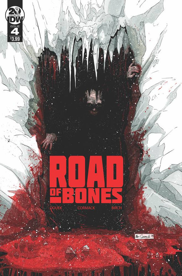 Road Of Bones #4 Cvr A Cormack (Of 4)