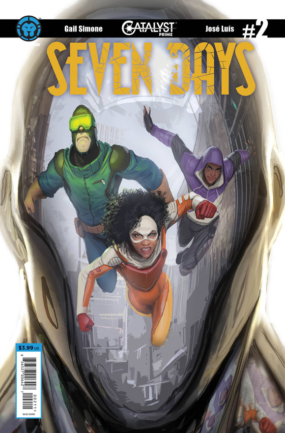 Catalyst Prime Seven Days #2 Main Cvr (Of 7)