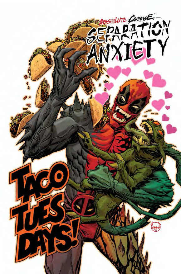 Absolute Carnage Separation Anxiety #1 Johnson Codex V
