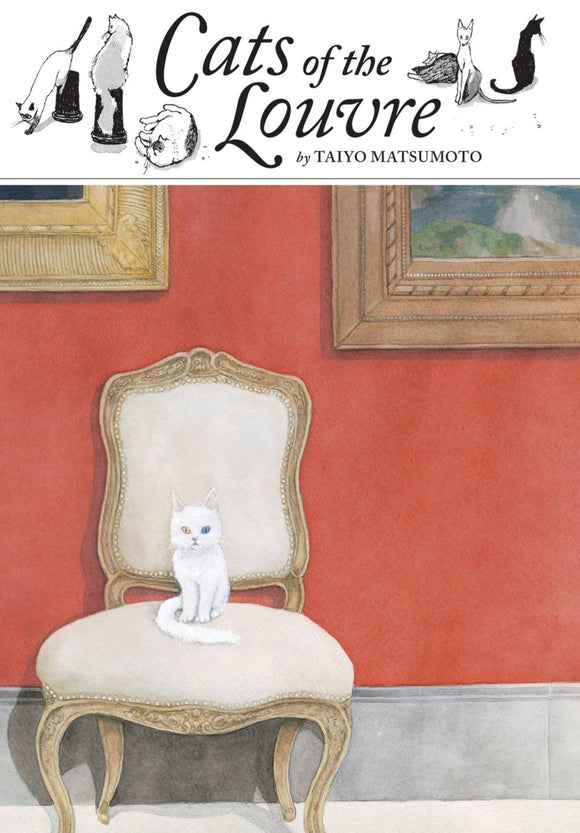 Cats of The Louvre Manga HC - Books