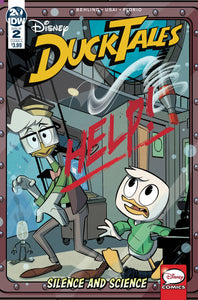 Ducktales Silence & Science #2 Cvr A Ghiglione (Of 3)