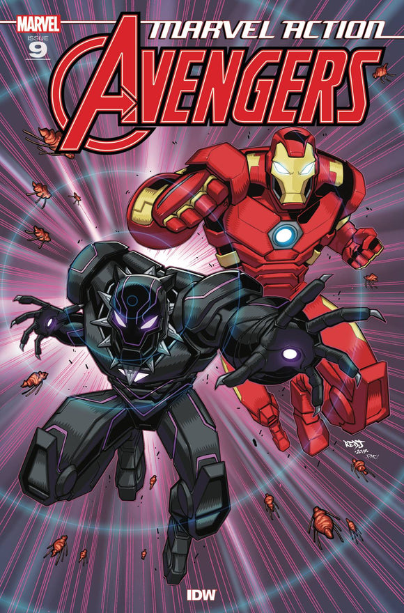 Marvel Action Avengers #9 Sommariva