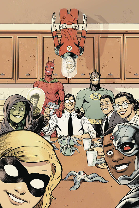 Black Hammer Justice League #3 Cvr E Shaner (Of 5)