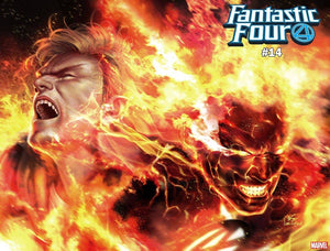 Fantastic Four #14 Inhyuk Lee Immortal Wraparound Var