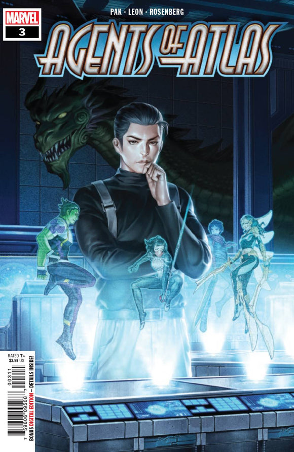 Agents Of Atlas #3 (Of 5)