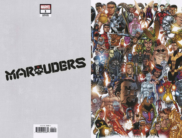 Marauders #1 Bagley Every Mutant Ever Var Dx
