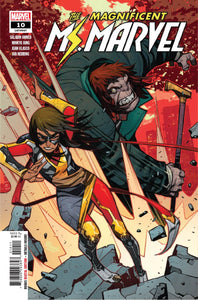 Magnificent Ms Marvel #10
