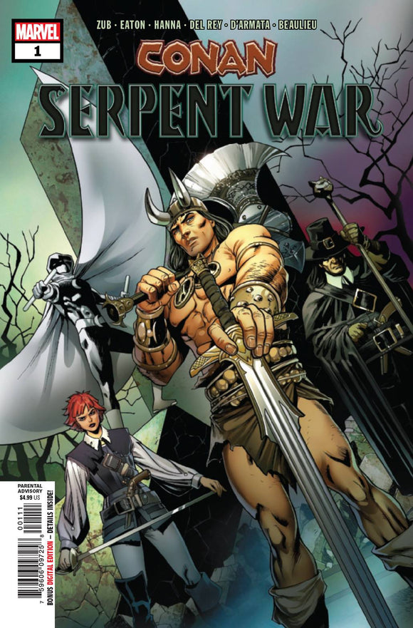 Conan Serpent War #1 (of 4) - Comics