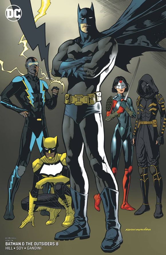 Batman And The Outsiders #8 Var Ed