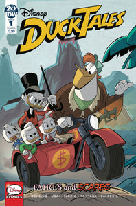 Ducktales Faires & Scares #1 Cvr A Ghiglione & (of 3) - Comics