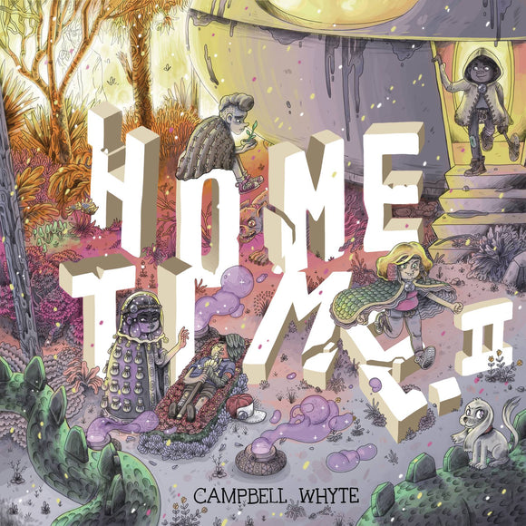 Home Time HC Vol 02 Beyond The Weaving - Books