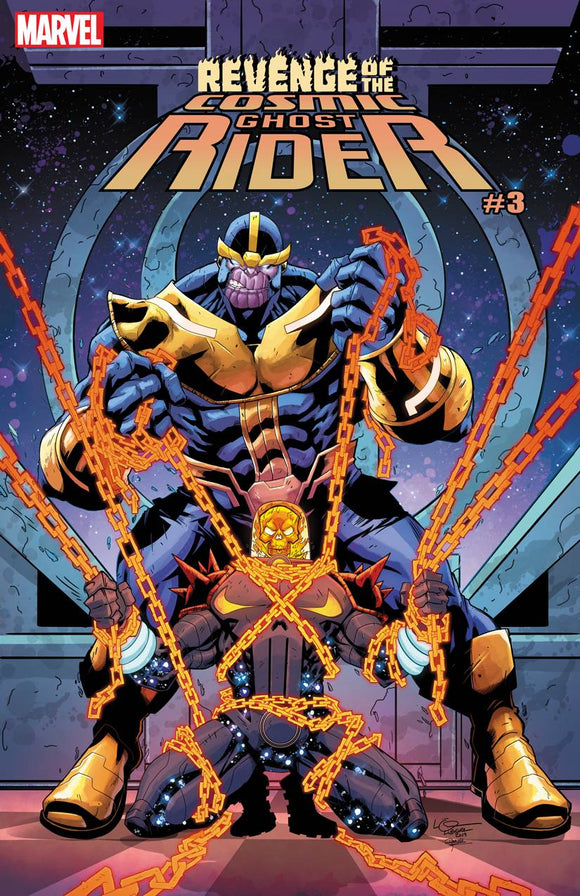 Revenge Of Cosmic Ghost Rider #3 Lubera Var (Of 5)