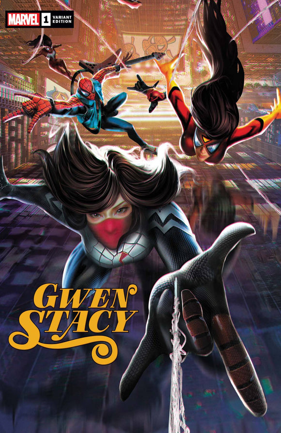 Gwen Stacy #1 Jie Yuan Connecting Chinese New Y (Of 5)