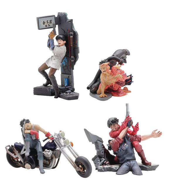 Akira Miniq Tradging Fig 6Pc Bmb Dis - Toys and Models