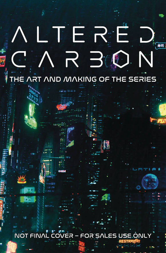 Altered Carbon Art and Making The Series HC - Books