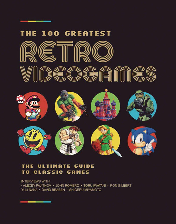 100 Greatest Retro Videogames HC - Books