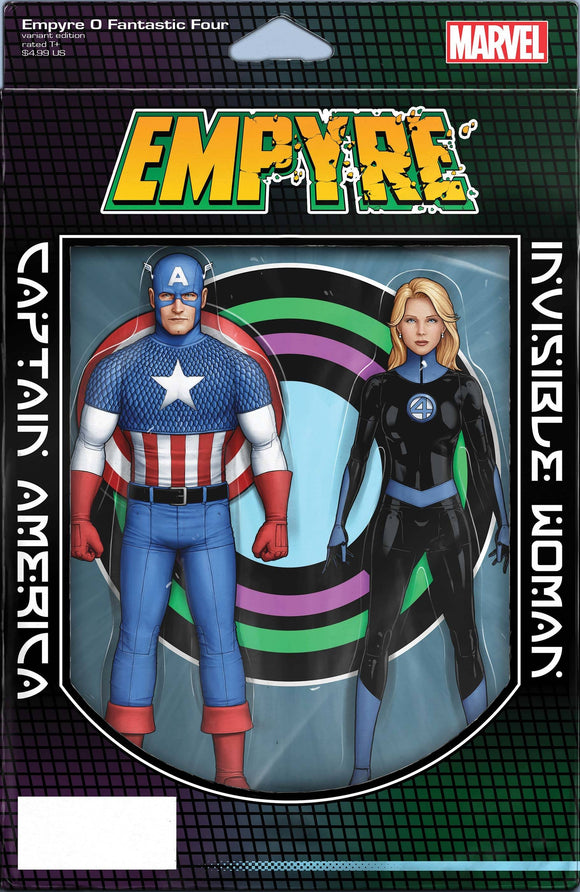 Empyre Fantastic Four #0 Christopher 2-Pack Action Fig - Comics