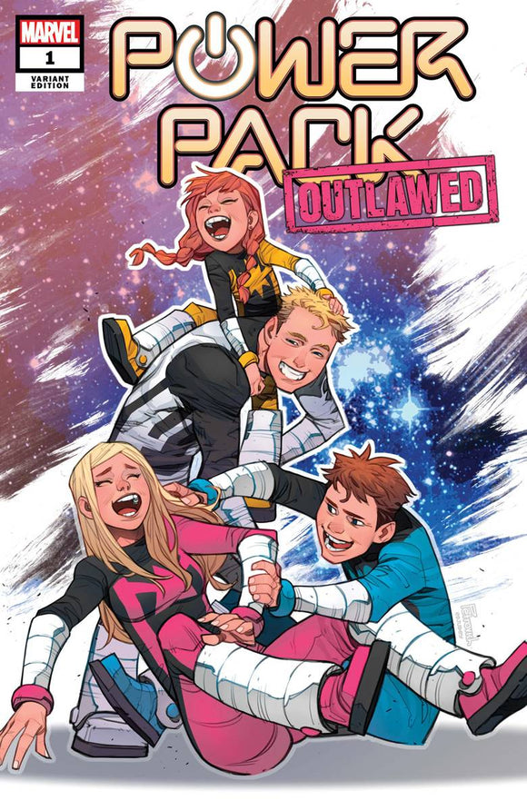 Power Pack #1 Petrovich Var (of 5) - Comics