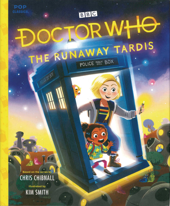 Doctor Who Runaway Tardis Pop Classic Illus Storybook HC - Books