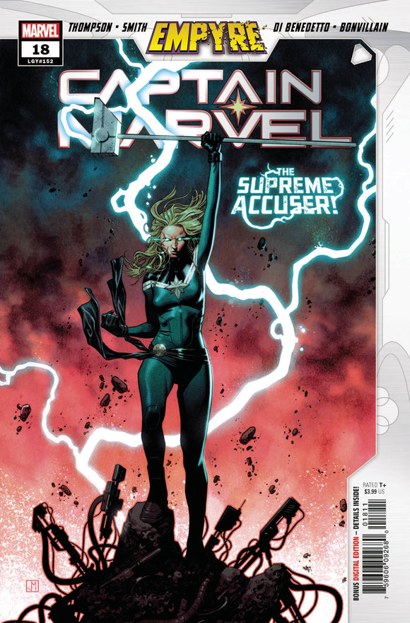 Captain Marvel #18 Emp - Comics