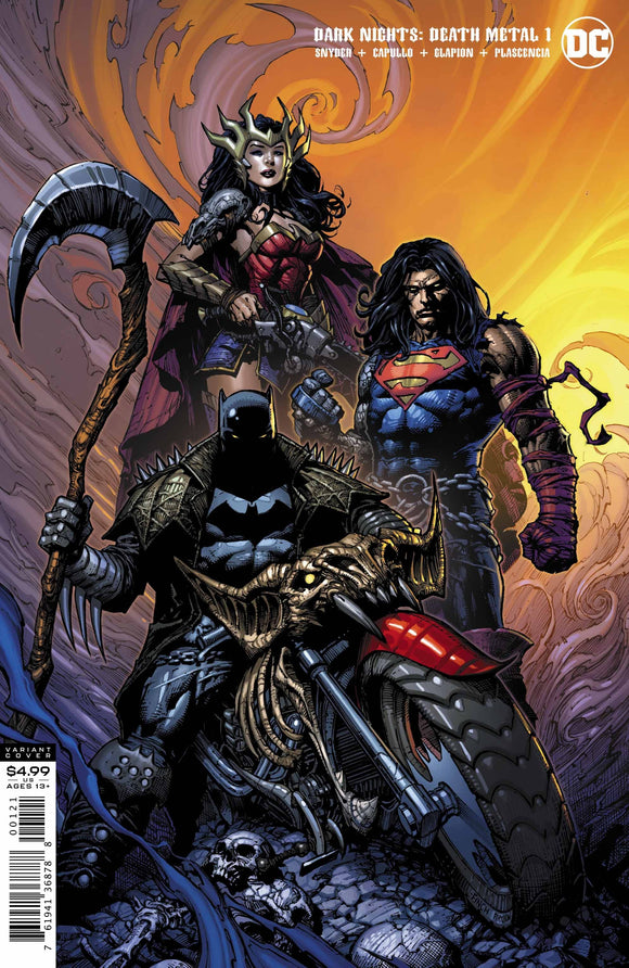 Dark Nights Death Metal #1 David Finch Batman V (of 6) - Comics
