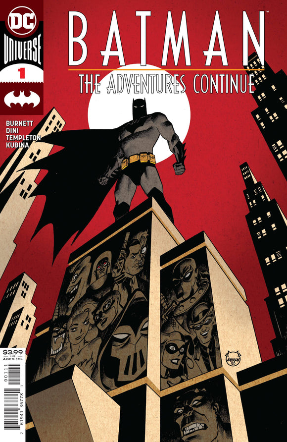 Batman The Adventures Continue #1 (of 6) - Comics