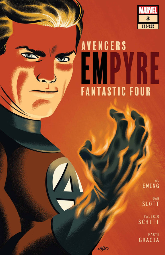 Empyre #3 Michael Cho Ff Var (of 6) - Comics