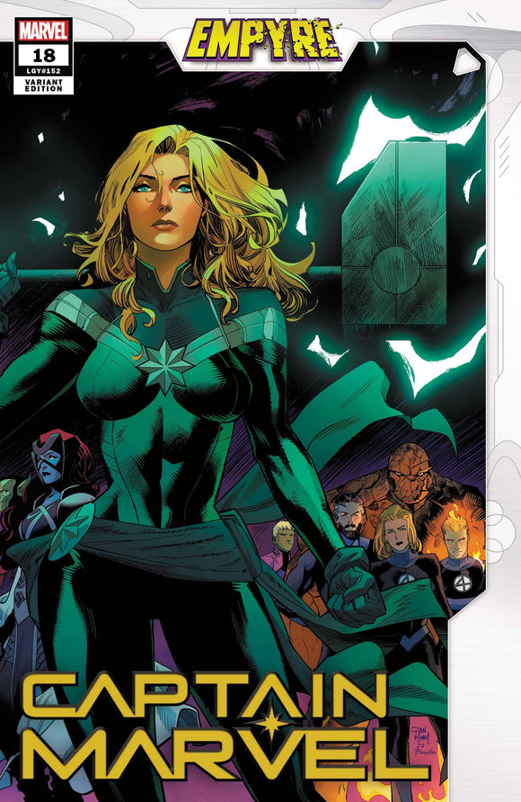 Captain Marvel #18 Mora Empyre Var Emp - Comics