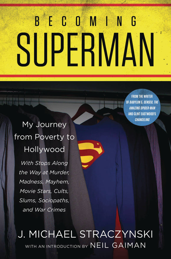 Becoming Superman Journey From Poverty to Hollywood SC - Books