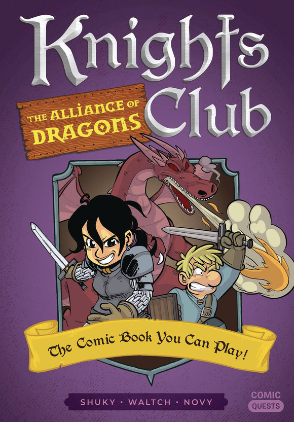 Comic Quests Knights Club Alliance of Dragons - Books