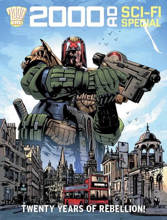 2000 Ad Summer Sci-Fi Special 2020 TP - Books