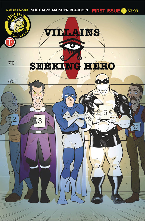 Villains Seeking Hero #1 - Comics